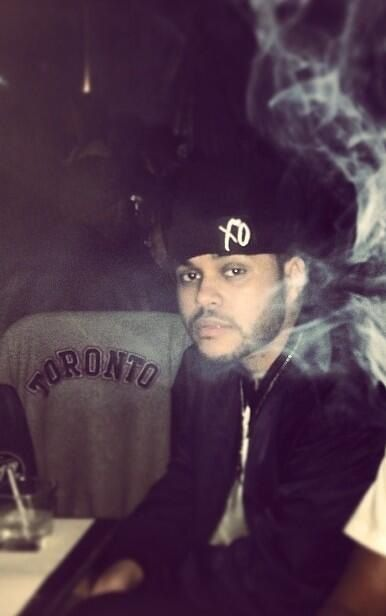 ✦ Pinterest: @Lollipopornstar ✦ The Weeknd | Abel Tesfaye | XO | Hat | Smoke