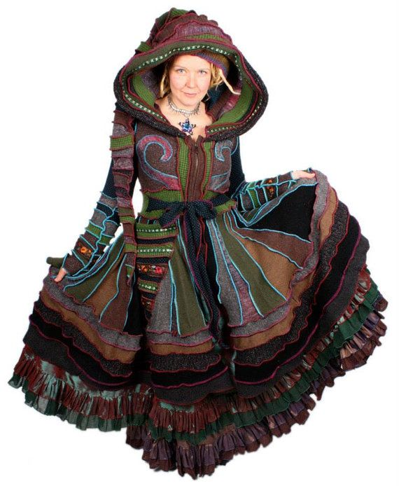 This is a colorful ebook to teach people how they can go about making their own Katwise style Elf Coat. This listing is for a DIGITAL FILE that will be