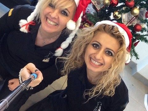 Merry christmas and happy new year 2017 from Spain Amal Hermuz Vivyan Hermuz Vivyan Hair Design