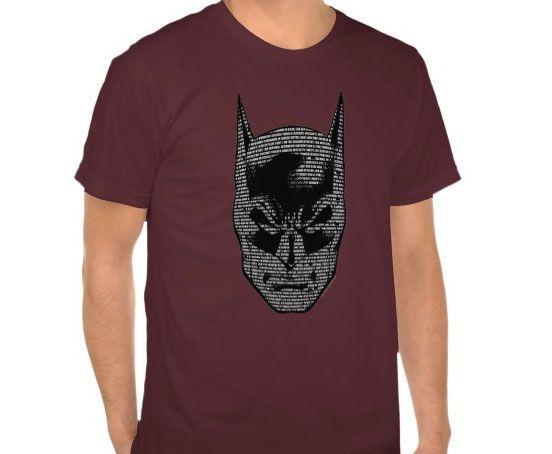 Batman Head Mantra T-shirt Design