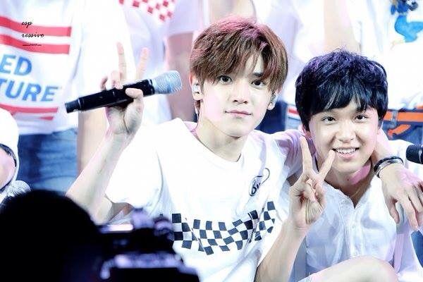 151122 Smrookies Taeyong & Donghyuck at Smrookies show smtown