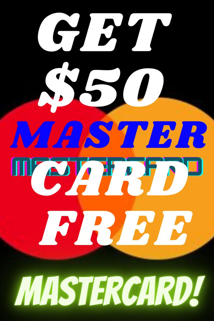 Get free 50 mastercard gift card in 2020 mastercard
