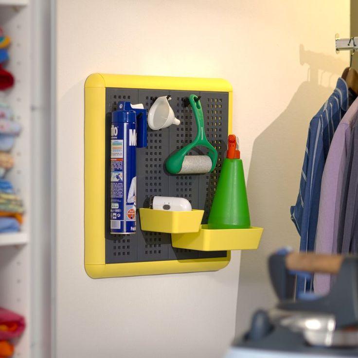 Kit Paretella Elegange 60 grigia  La soluzione per organizzare le stanze di servizio come lavanderie, stirerie, garage e sottoscala