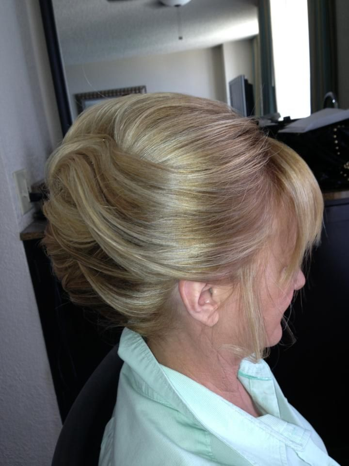 19 best mother of bride hair images on pinterest boyfriends french twist wedding hair mother of the bride bridal hairstyle by pmusecretfo Images