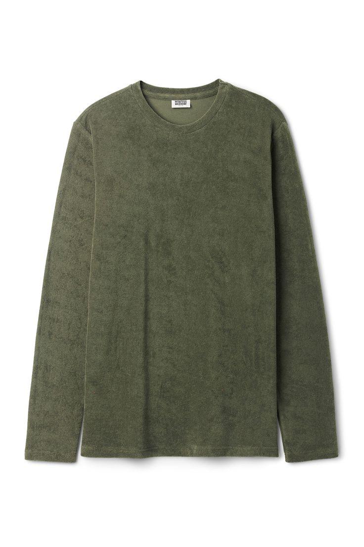 Towel Long Sleeve in Khaki Green