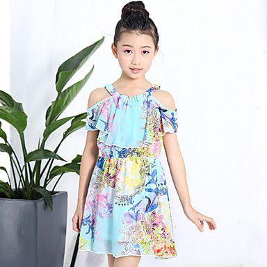 9bc433c7cce2 Vestidos de Moda para Niña | chalis | Moda para niñas, Moda de bebés ...