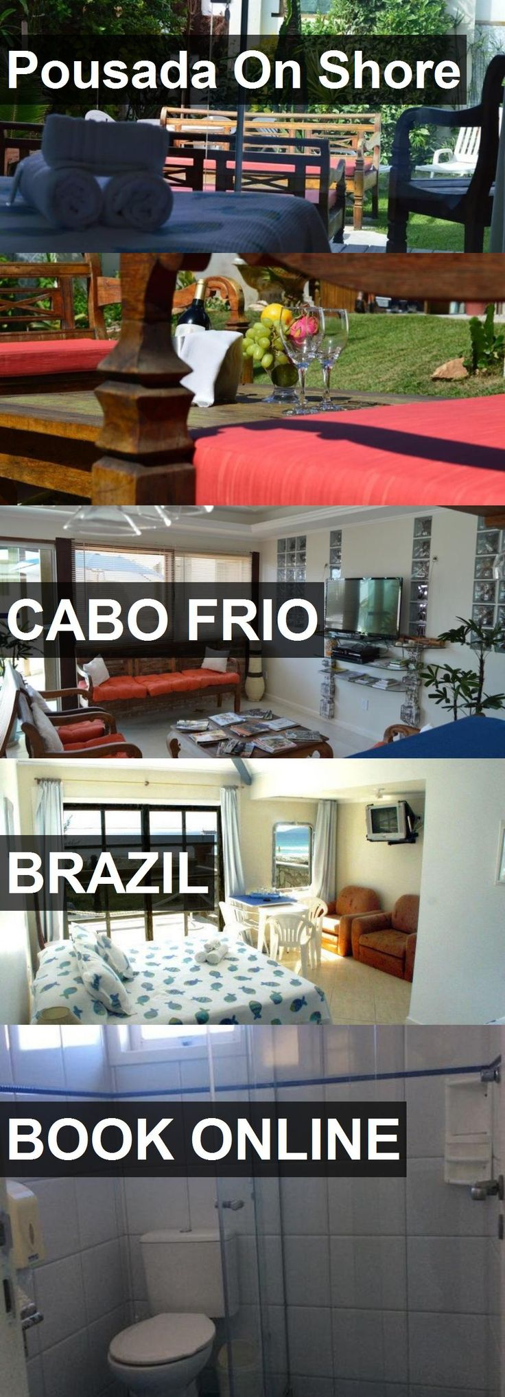 Hotel Pousada On Shore in Cabo Frio, Brazil. For more information, photos, reviews and best prices please follow the link. #Brazil #CaboFrio #PousadaOnShore #hotel #travel #vacation