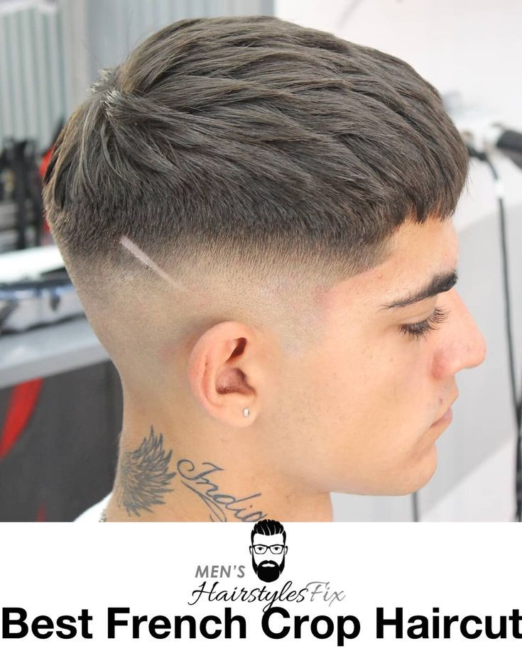 French Crop Haarschnitt Mach Es Selbst In 2020 Haarschnitt Franzosischer Haarschnitt Mannerhaare