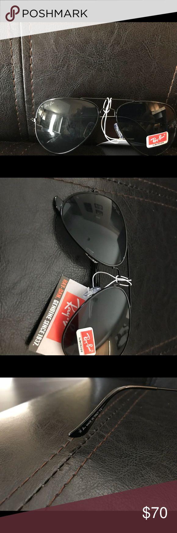 Ray-Ban Aviator Sunglasses for kids Brand New Ray-Ban Aviator Sunglasses for Kids black in color brand new no case Ray-Ban Accessories Sunglasses