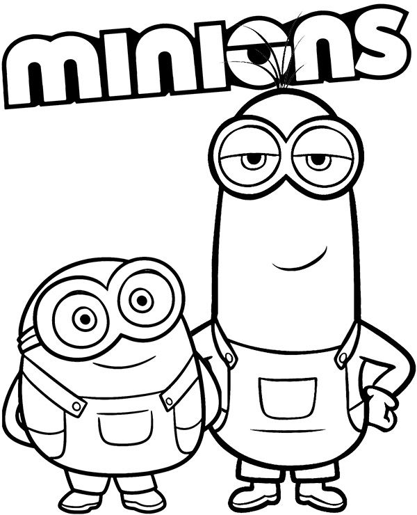 Minions Coloring Sheet Minion Coloring Pages Minions Coloring Pages Cute Coloring Pages