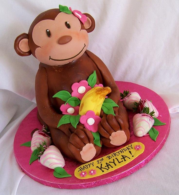 торт с обезьянкой фото пришли повеселиться