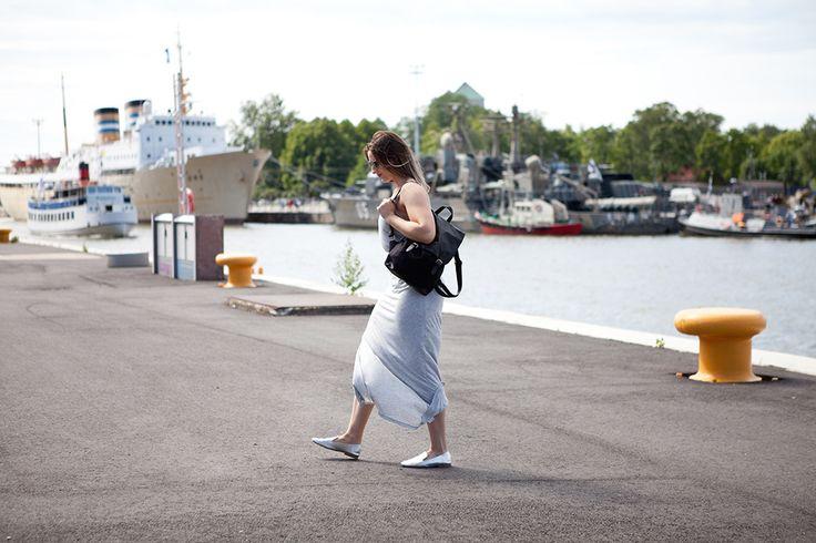Ruisrock | Grey Maxi Dress | Smile | Finland Summer | Jadeyolanda.fi
