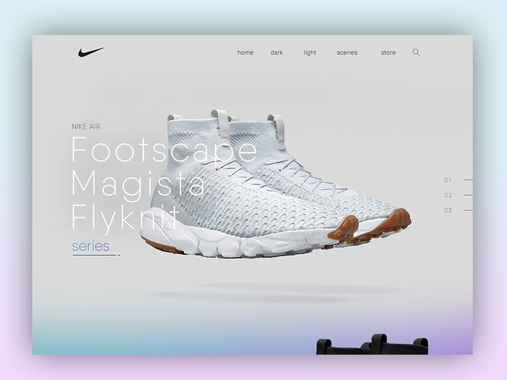 Product page for the Nike Flyknit Magista series.  Full attachment