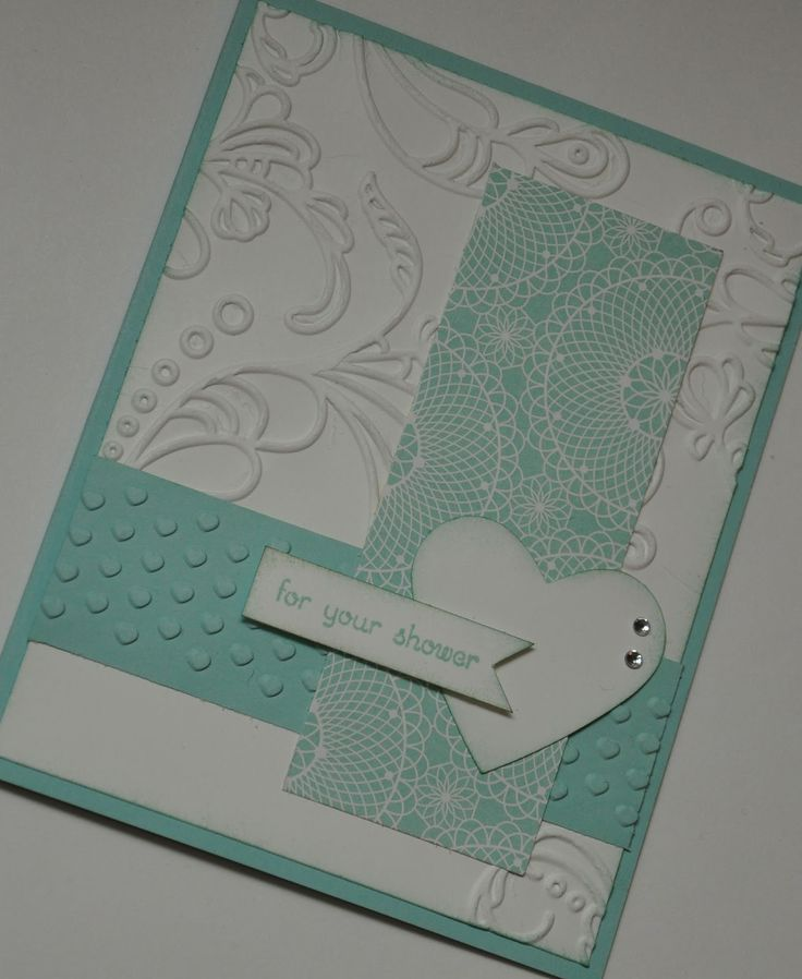 Wedding Shower Card - Stampin Up