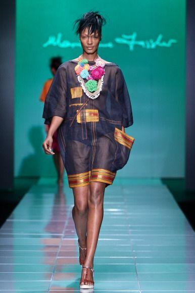 Marianne Fassler @ Mercedes Benz Fashion Week Africa 2013 - Day 1 / South Africa | FashionGHANA.com (100% African Fashion)FashionGHANA.com (100% African Fashion)