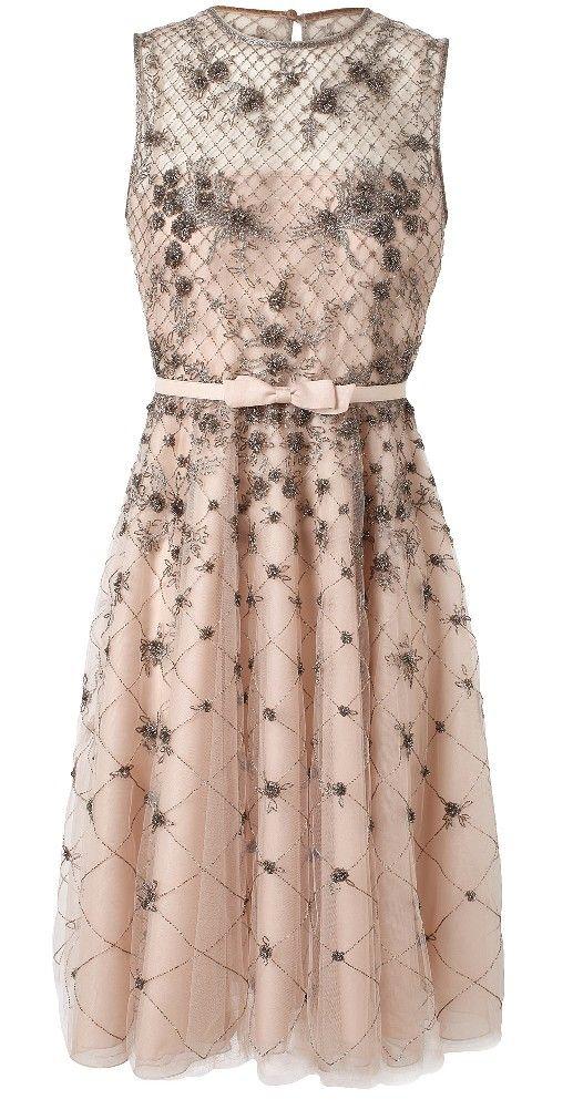 Blush organza dress / valentino