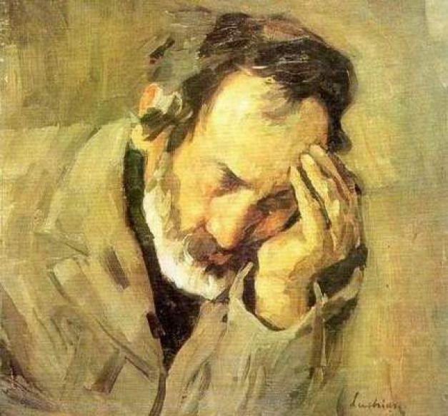 """Suferinţele inumane ale lui Ştefan Luchian: agonia """"poetului plastic al florilor"""" şi cum picta ca un geniu cu pensula legată de braţul paralizat   adevarul.ro"""