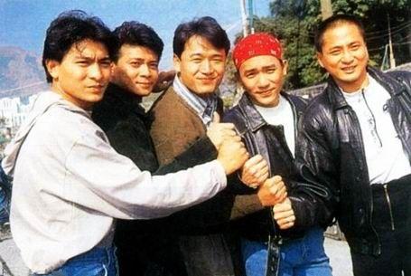 five tiger generals of tvb