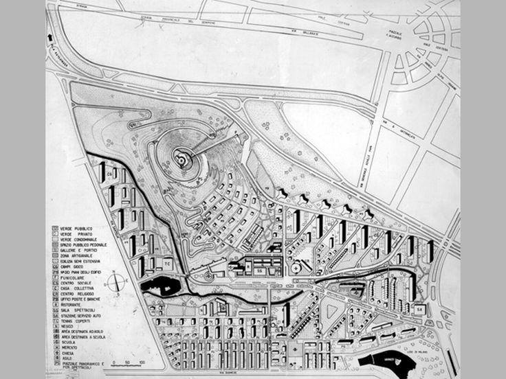 QT8 terzo progetto 1953 Piero Bottoni la dimensione civile della bellezza  itinerari  Ordine degli architetti PPC della provin