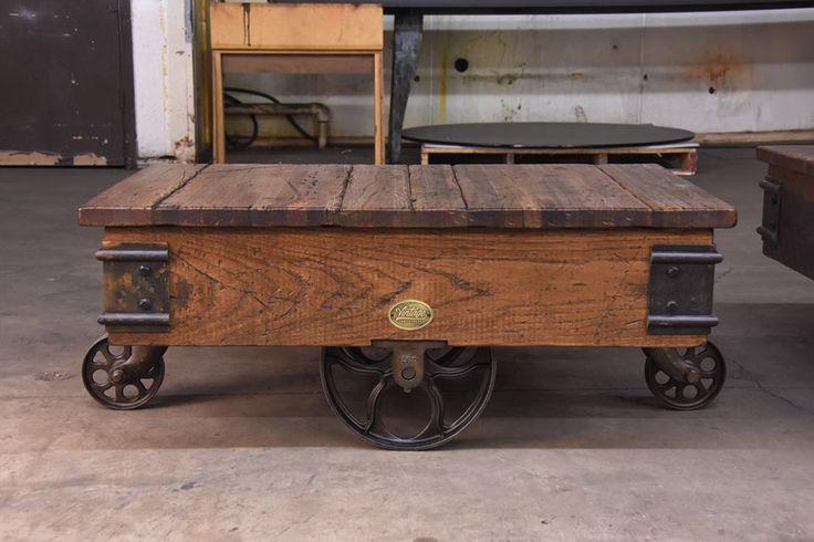 Refurbished pallet cart by Vintage Industrial Furniture