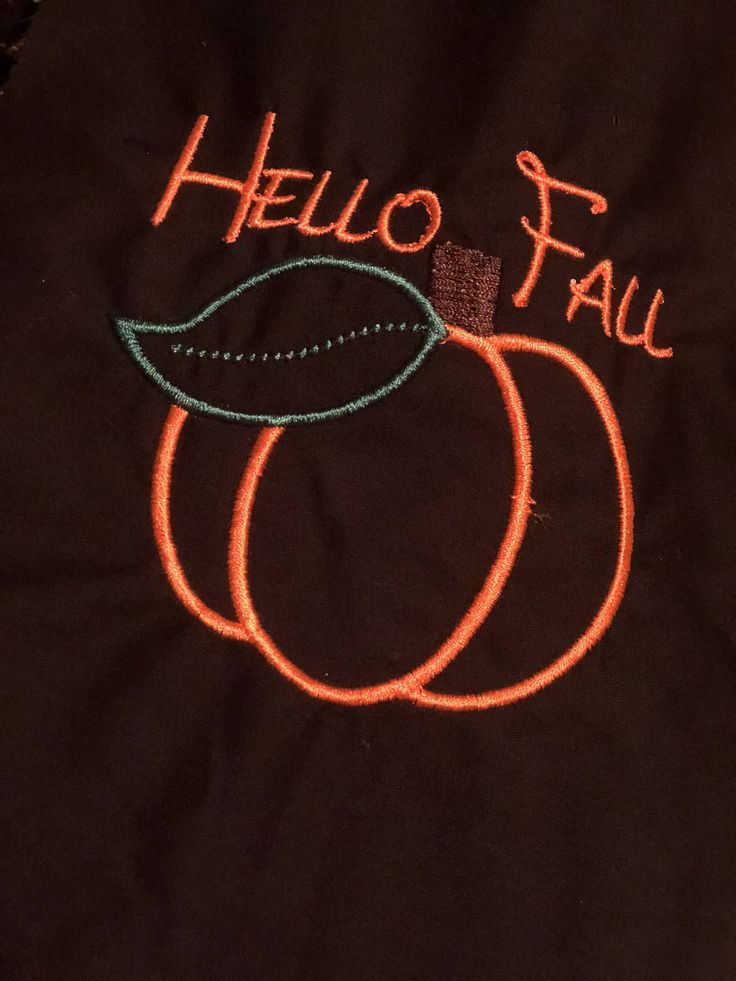Hello Fall Adult tee by MonogramsbyE on Etsy Hello