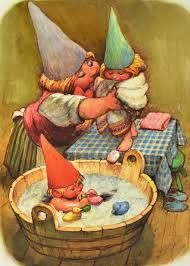 Gnomes at home...
