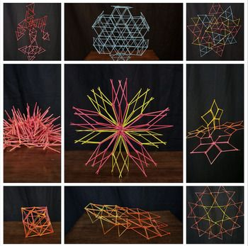 3D Art Lesson - Linear Sculptures - Toothpick... by A Space to Create | Teachers Pay Teachers