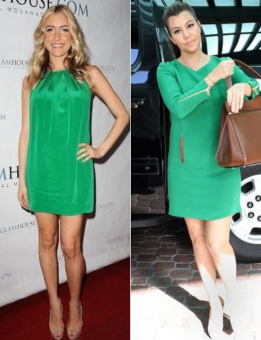 #green #emerald #dress