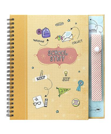 Take a look at this School Stuff Scrapbook by American Girl Crafts on #zulily today!