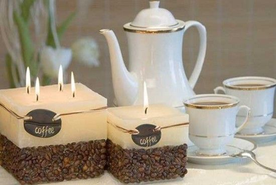 How To Make A Coffee Candle