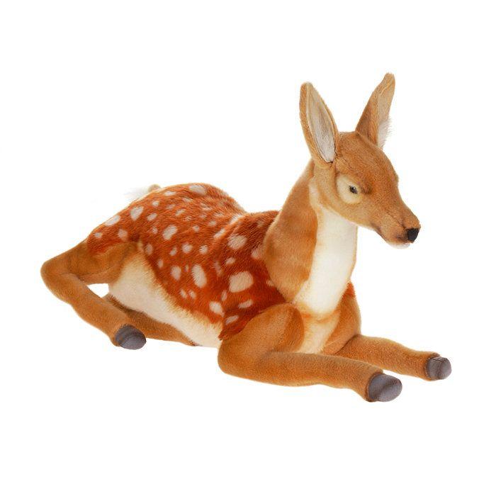 Realistic Stuffed Animals | Hansa Plush Realistic Stuffed Animal - Deer Lying Down Bambi