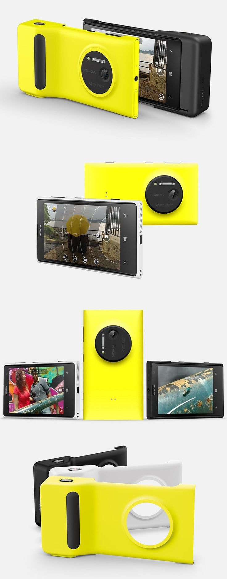 What? A smartphone with a 41-megapixel camera? That's what Nokia introduced today with the Lumia 1020, a Windows Phone 8 unit with an image sensor far sharper than those of most point-and-shoot digital cameras. Snap one photo and it saves two: One at the full 41MP resolution and one at 5MP for easy sharing. It has a 4.5-inch display, an image-stabilization feature and comes with Nokia Pro Camera, a sophisticated, but easy-to-use camera app. Arrives at AT July 26. $300 with a two-year plan.