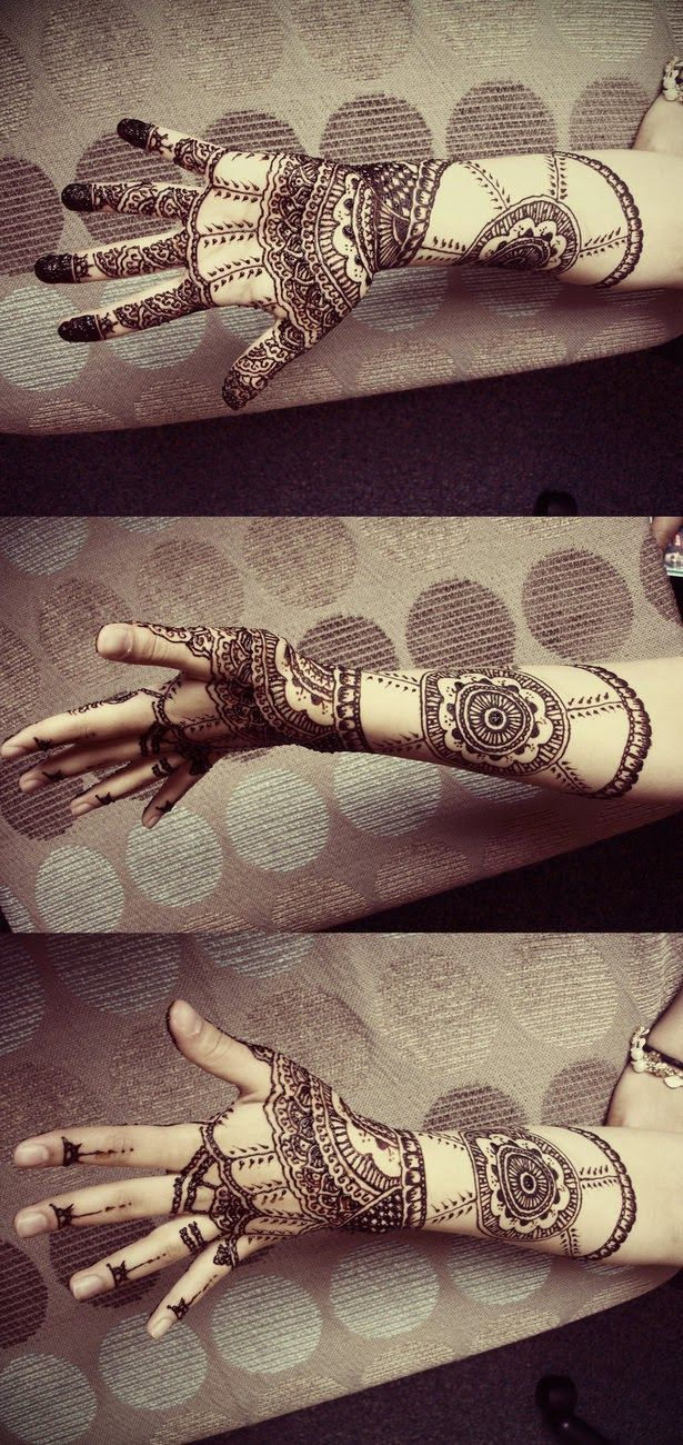 Light uv tattoos henna tattoo for - 40 Best Eid Mehndi Designs Henna Patterns For Full Hands Feet 2012