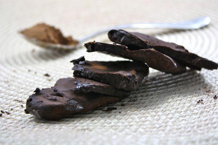 "Healthy Homemade ""Chocolate"" (Low Calorie, Vegan, Low Carb, Low Fat, Grain Free)"