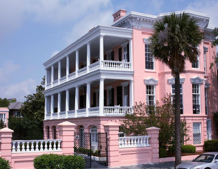 Pink Palace Bed and Breakfast, Charleston, SC. Great place to stay