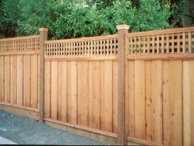 residential fence types - Google Search