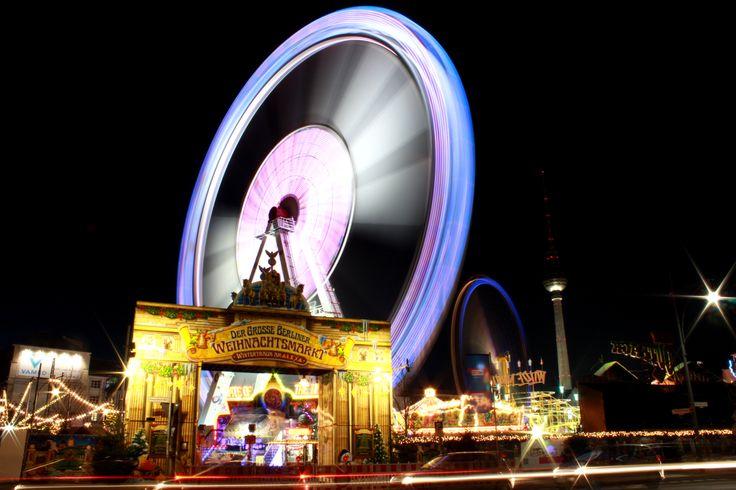 Berliner Weihnachtsmarkt am Alexanderplatz - #berlin #weihnachtsmarkt #alexanderplatz