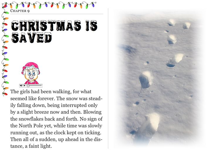 """Chapter 9 """"Christmas is Saved"""" (my personal images are used in my #audio #ebooks for #Children 3-7 and #Illustrative #Poetry, available at: https://itunes.apple.com/ca/book/twas-year-that-santa-quit/id1161025863?mt=11 and www.jamesagrove.ca)"""