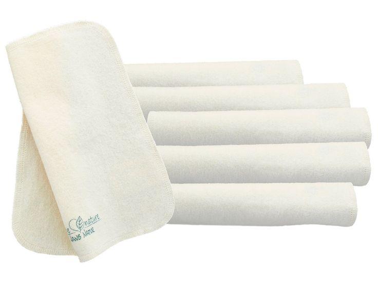 Schneller Versand ✓ 30 Tage Rückgaberecht ✓ Moltontücher - 100% Bio-Baumwolle (kbA), GOTS-zertifiziert. Ideal als Waschlappen für Babys oder als Tüchlein für unterwegs. Maschinenwaschbar bis 60° C., 20 x 20 cm