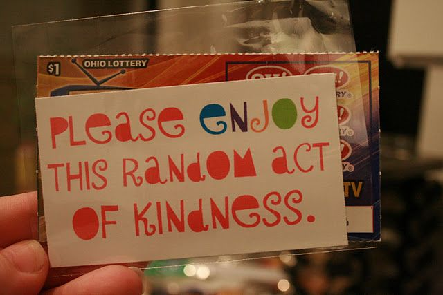 Random Acts of Kindness Cards {FREE Printable}