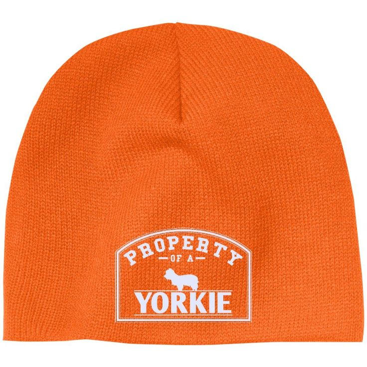 Yorkshire Terrier - Property Of A Yorkshire Terrier - Beanie (Embroidered)