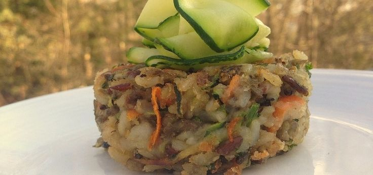 Wild Rice & Lentil Cakes (Vegan & Gluten-Free)
