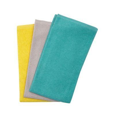 Ben de Lisi Home Set of three multicoloured hand towels- | Debenhams