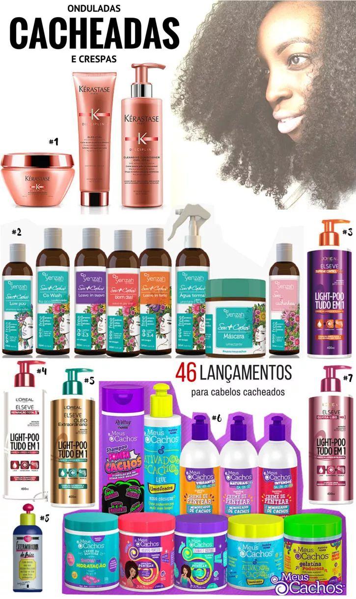 49 Lançamentos de produtos para cabelos cacheados: Quero Todos!