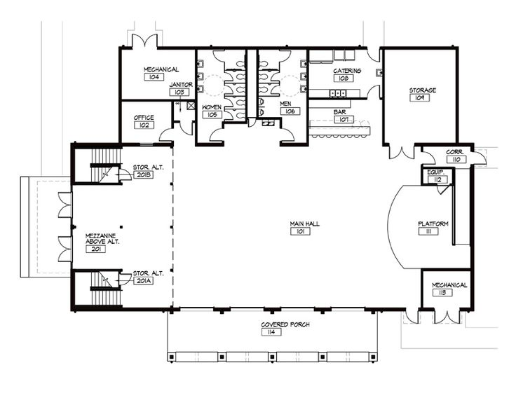 Event barn floor plans the barn pugh auditorium shorty 39 s Barn house layouts