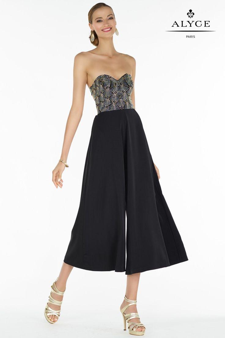 Black dress goals - Alyce Paris Prom 2017 Deco Collection Dress Style 2619 Alyce Paris Prom 2017 Black