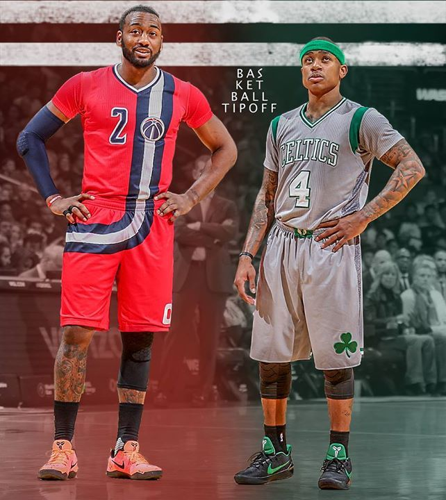 John Wall and Isaiah Thomas combine for 93 points ! What a duel.