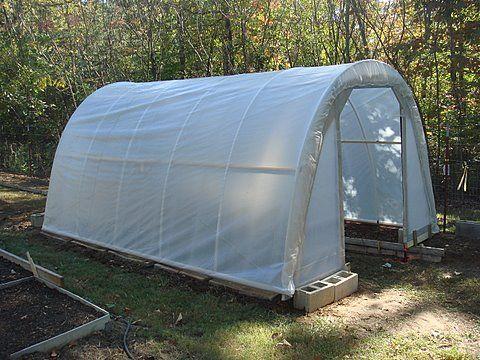 How to build My 50 Dollar Greenhouse » The Door Garden