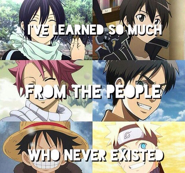 Anime changes lives. #anime