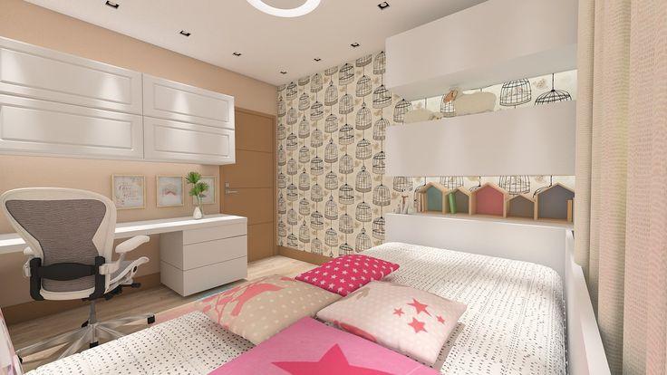 #projetosHAUS Quando o papai divide o espaço com as crianças o escritório vira brinquedoteca e a brinquedoteca vira escritório. Muito espaço para armazenagem de livros e brinquedos, espaço para brincar e espaço para trabalhar.    #Haus #architecture #design #decoração #interiordesign #interiores #instadecor #homedecor #designdeinteriores #arquitectura #archilovers #projeto #decoration #interior #instadesign #homedesign #instahome #architect #lifestyle #interiorstyling #interiordecor…